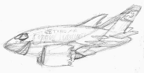 787 - sketch